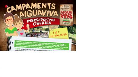 Campaments Aiguaviva 2018